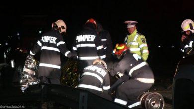 descarcerare pompieri accident cap de pod (2)
