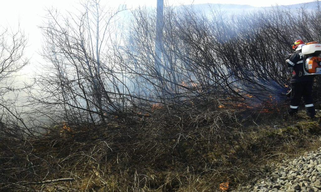 Incendiu Zalau - sursa: ISU Salaj