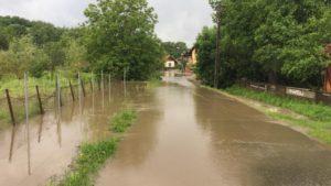 drum inundat