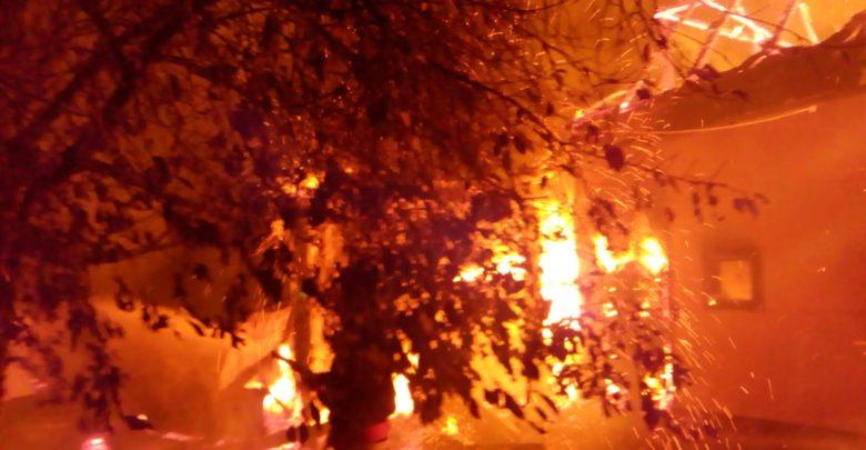 incendiu fildu de mijloc