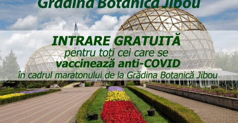 vaccinare gradina botanica